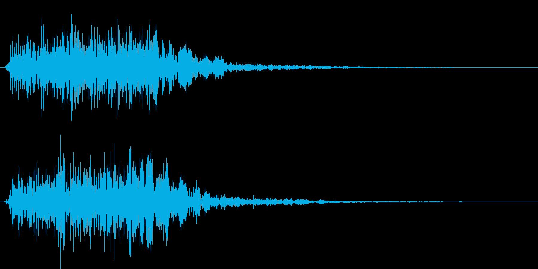 クワイーン。プテラノドンとか。の再生済みの波形