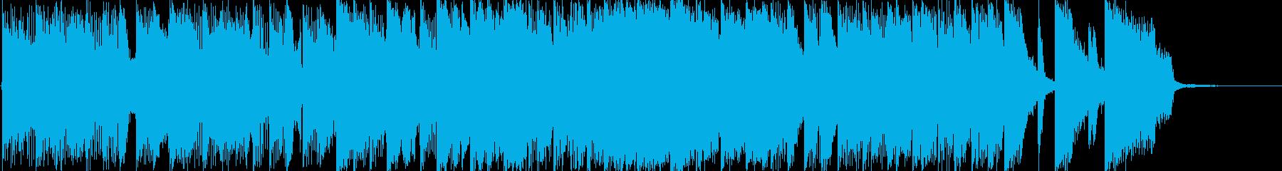 和風・中華風のややコミカルなバトルBGMの再生済みの波形