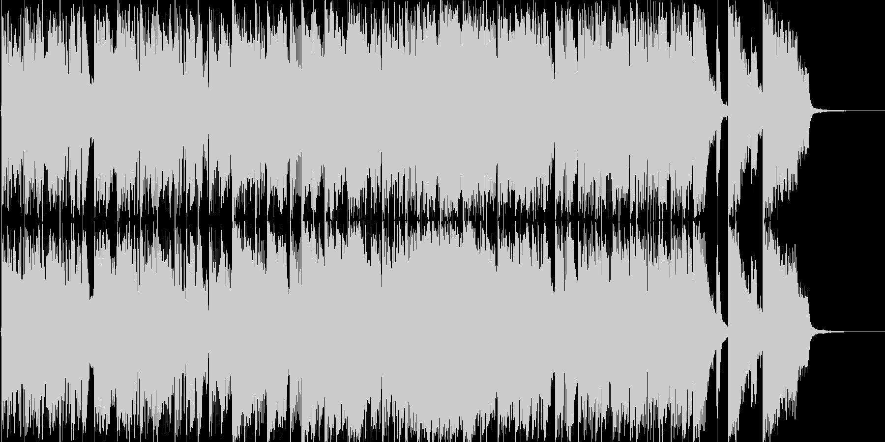 和風・中華風のややコミカルなバトルBGMの未再生の波形