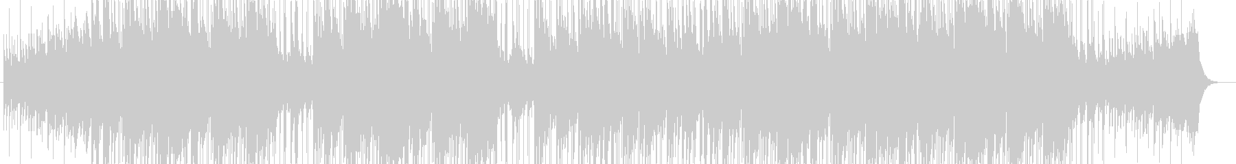 爽やか・ピアノ・オープニング・映像用の未再生の波形
