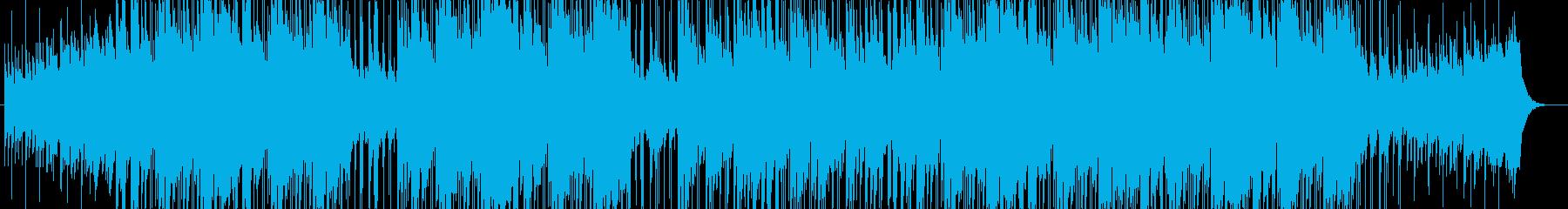 爽やか・ピアノ・オープニング・映像用の再生済みの波形