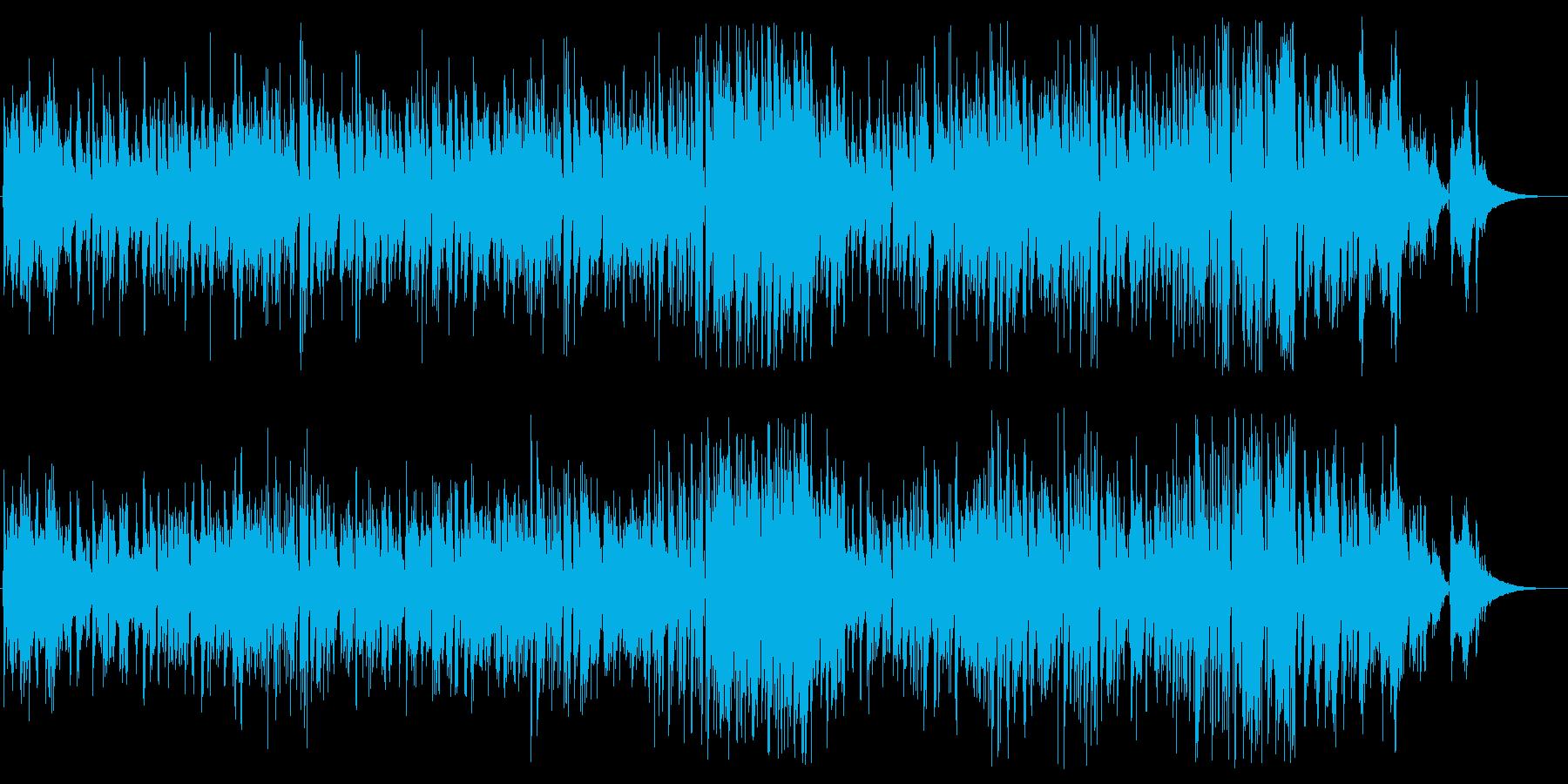 爽やかでメロディアスなピアノトリオジャズの再生済みの波形