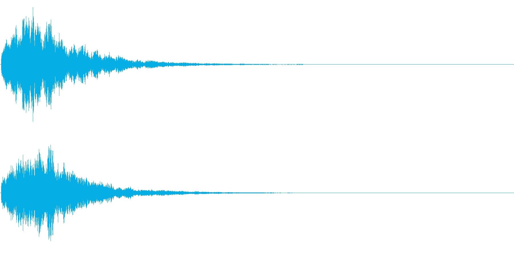 ゲームスタート、決定、ボタン音-028の再生済みの波形