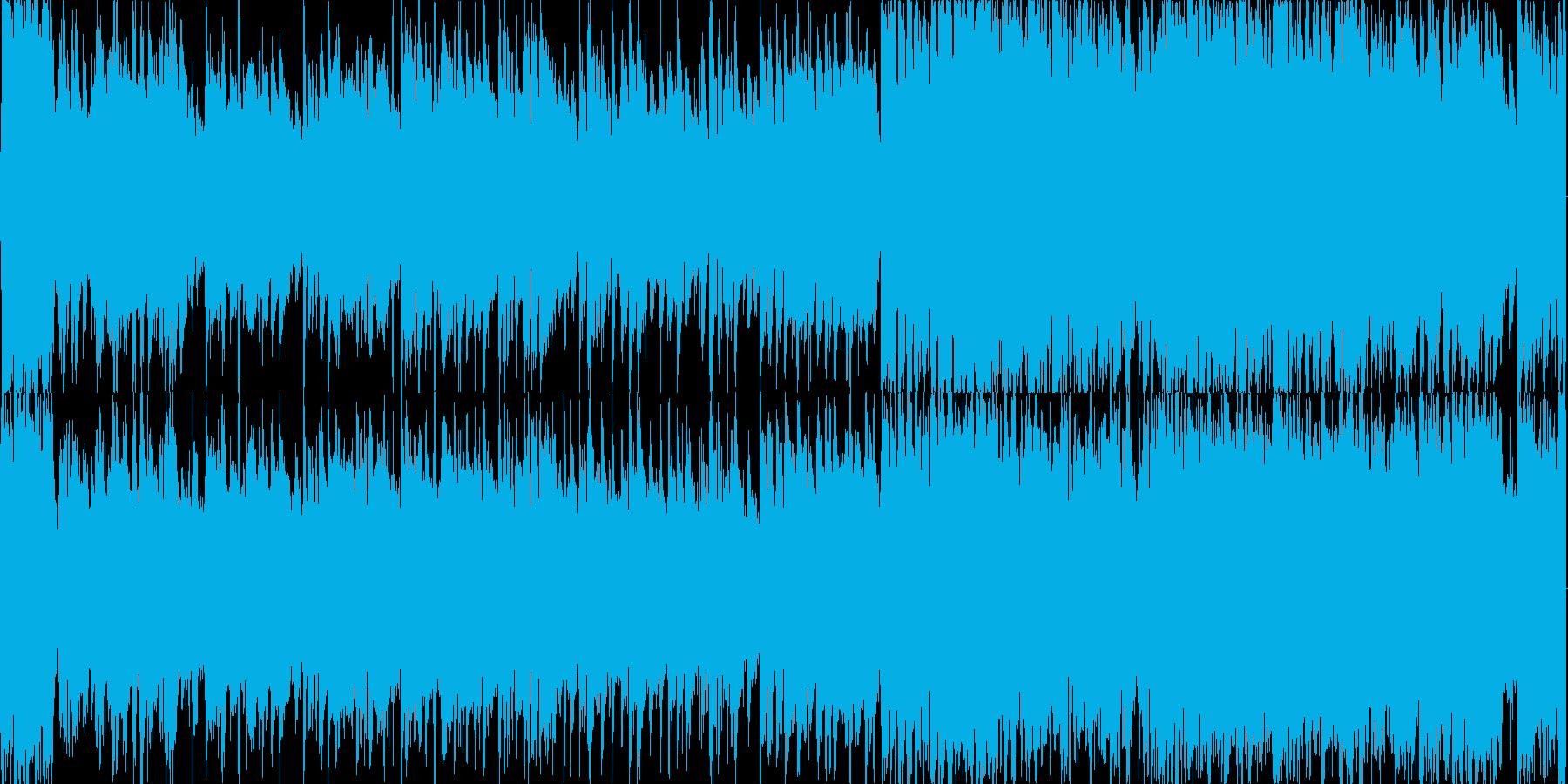 民族、エスニック、ループの再生済みの波形