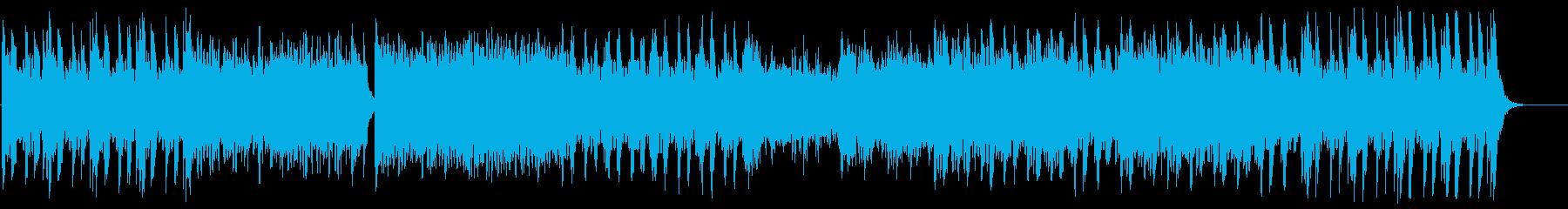 迫力とドキドキ感の弦管楽器などのサウンドの再生済みの波形
