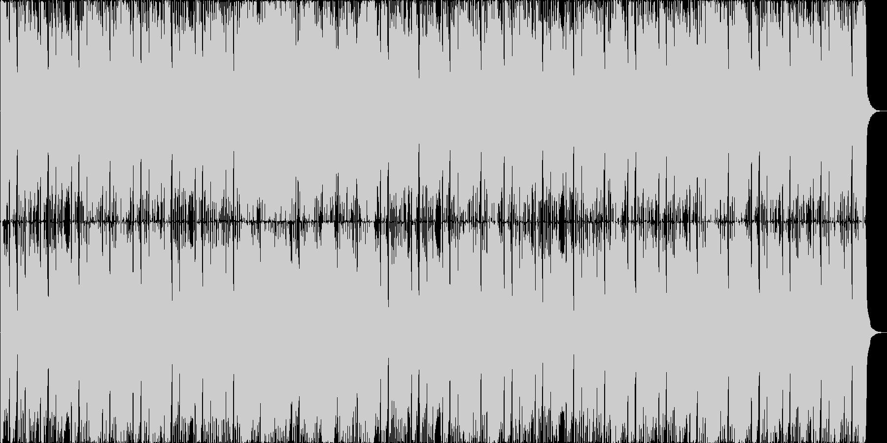 和の笛を取り入れたメタルです。の未再生の波形