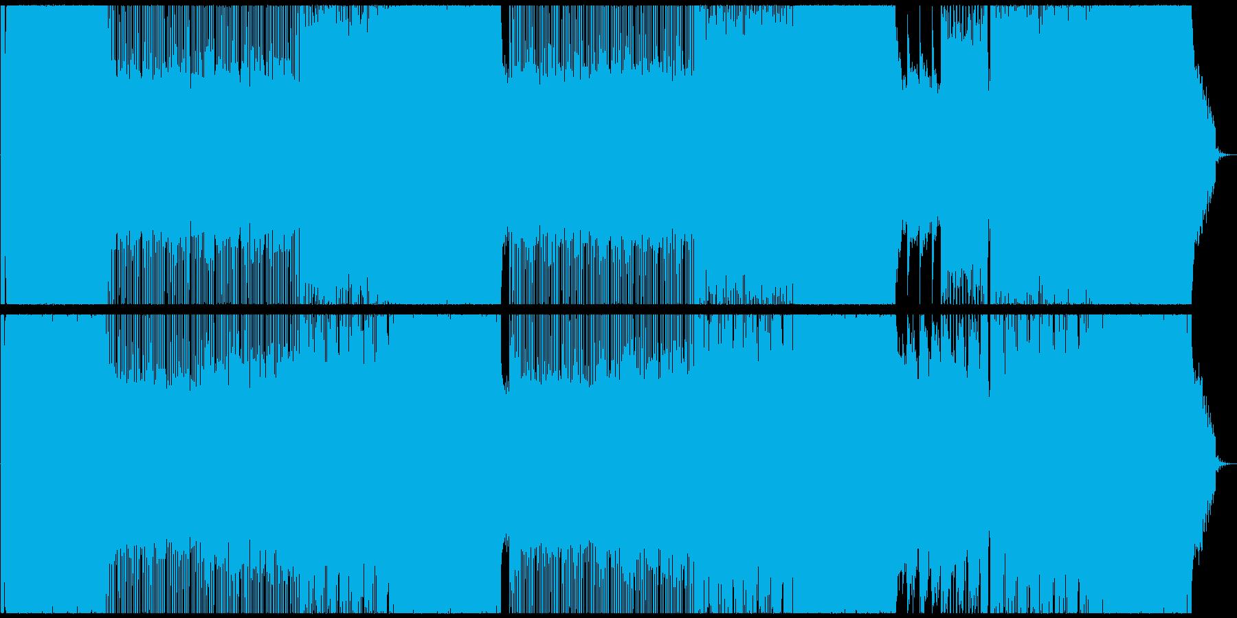 落ち浮いた雰囲気のUK風ギターロックの再生済みの波形