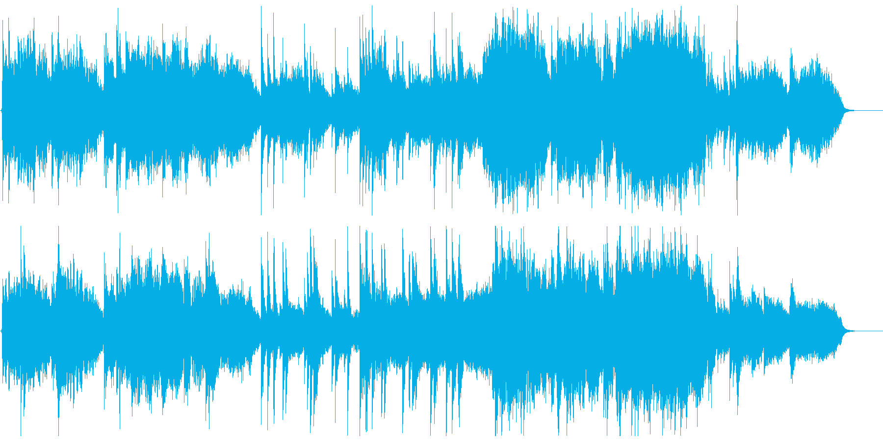 民族楽器の生演奏による美しいバラードの再生済みの波形