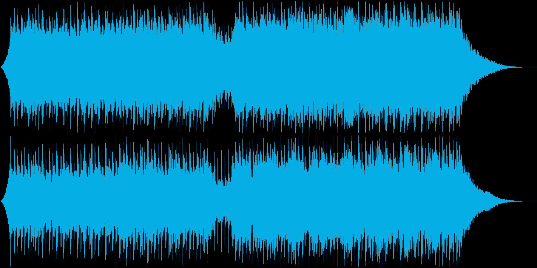 企業VP・映像・ポジティブ爽やかポップ4の再生済みの波形