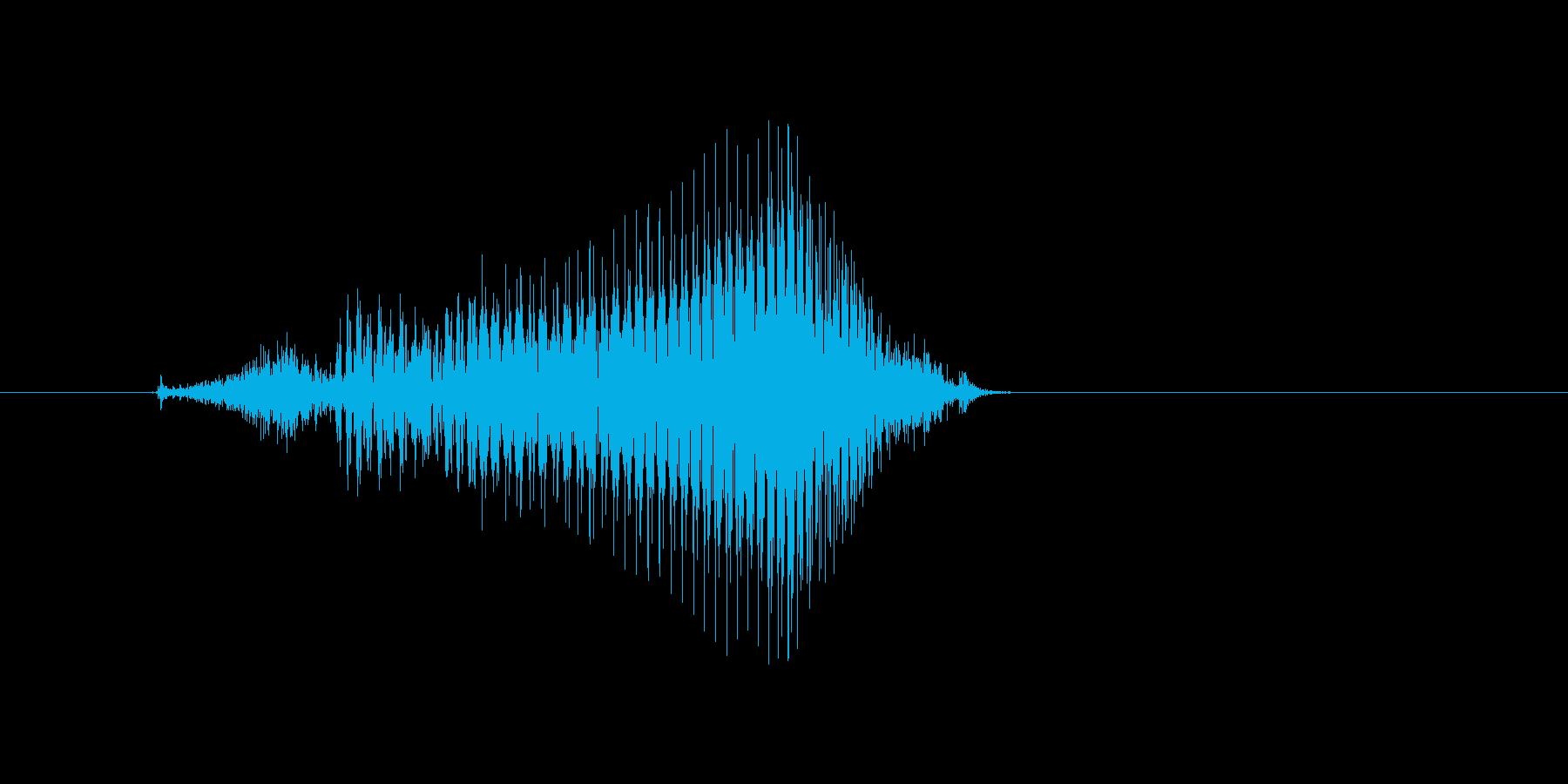 ちぇーっの再生済みの波形