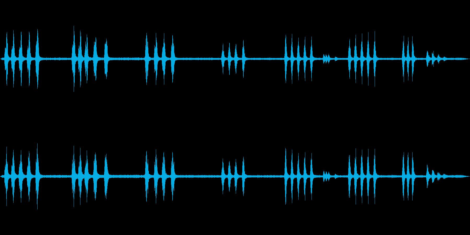 住宅街のカラス_01の再生済みの波形