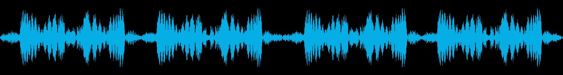 ズビズビ(レコードスクラッチ4回)の再生済みの波形