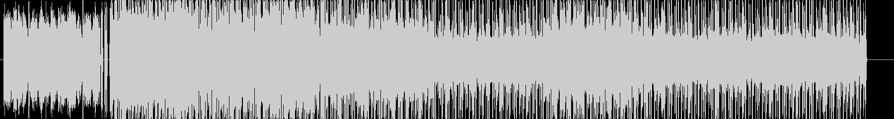 ファンキーチルウェイブBGMの未再生の波形