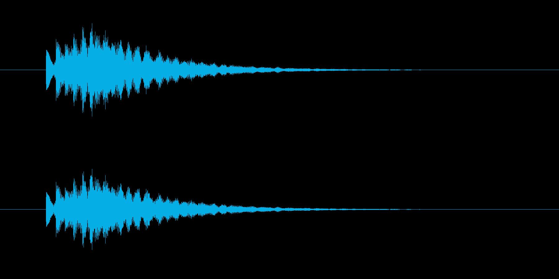 ポロロロン(エレピのジングル)の再生済みの波形