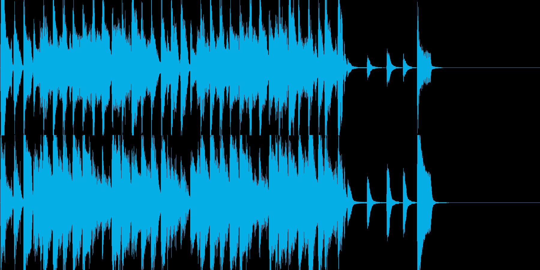 オシャレなジャズBGMショートver.の再生済みの波形