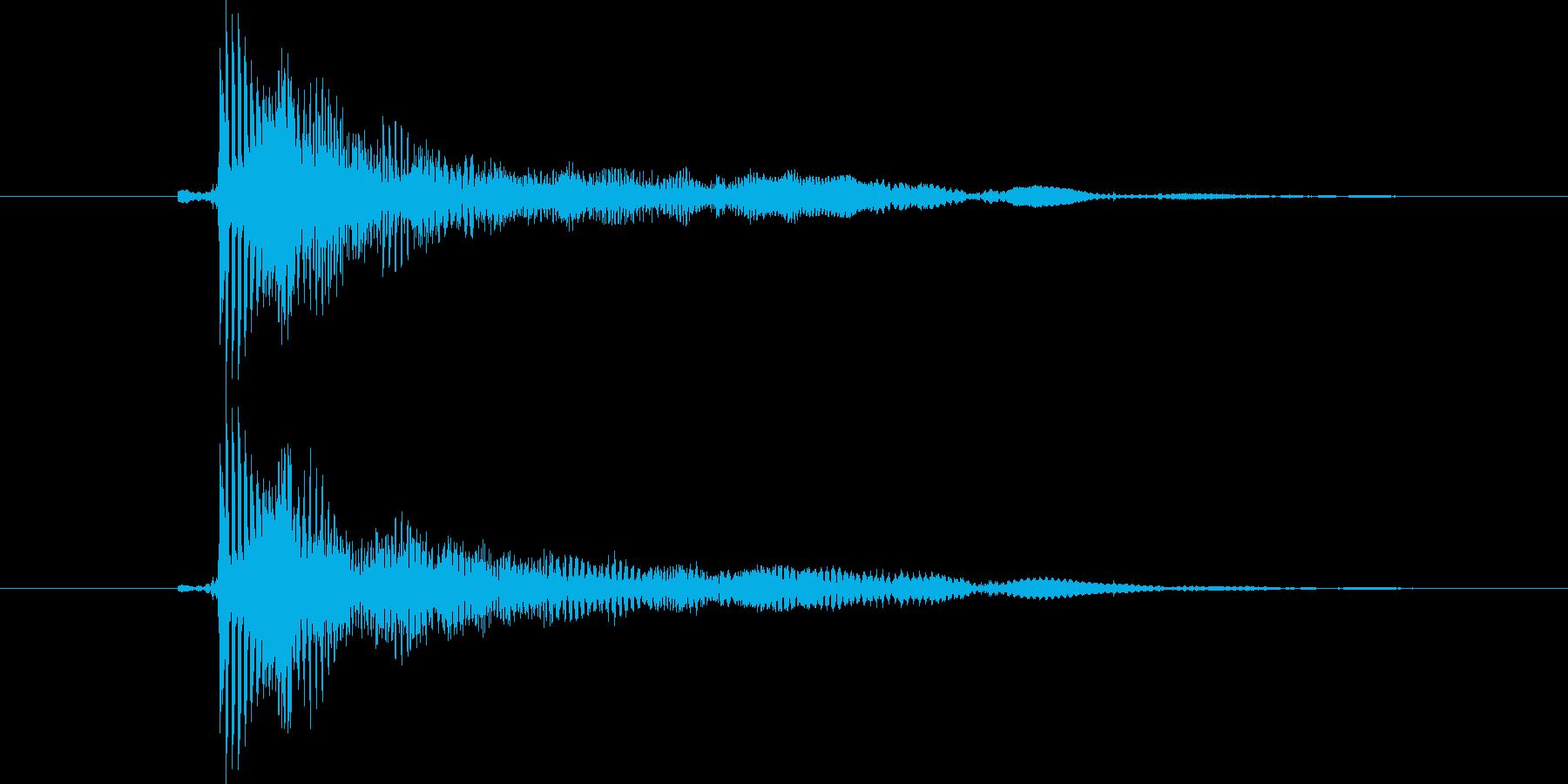 口琴1 ぼよ~ん コントの再生済みの波形