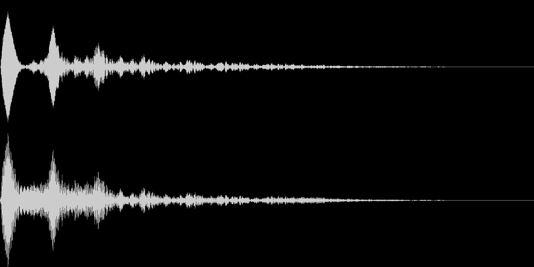ワンポイント - 2 バブルの未再生の波形