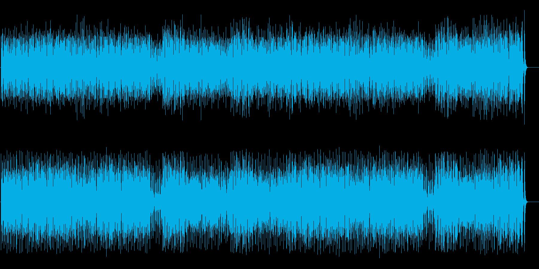 大草原に轟くアフリカ民族音楽風の再生済みの波形