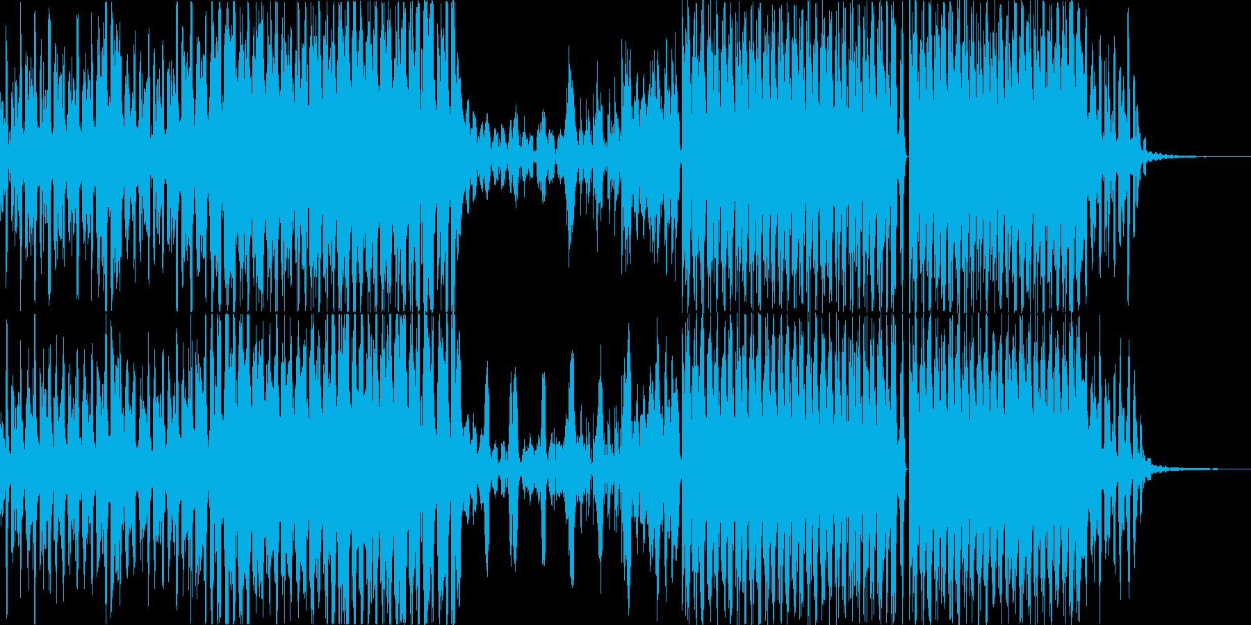 疾走感溢れだしてるエレクトロの再生済みの波形