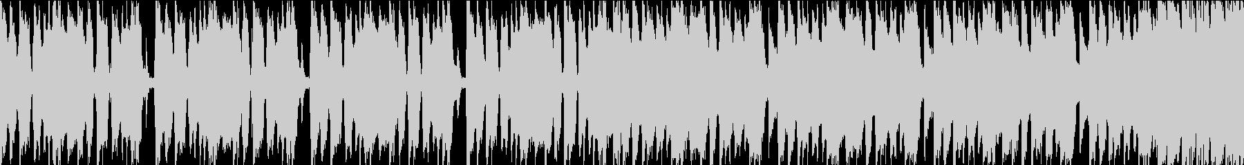 尾行を撒くシーンにあうBGM_1の未再生の波形