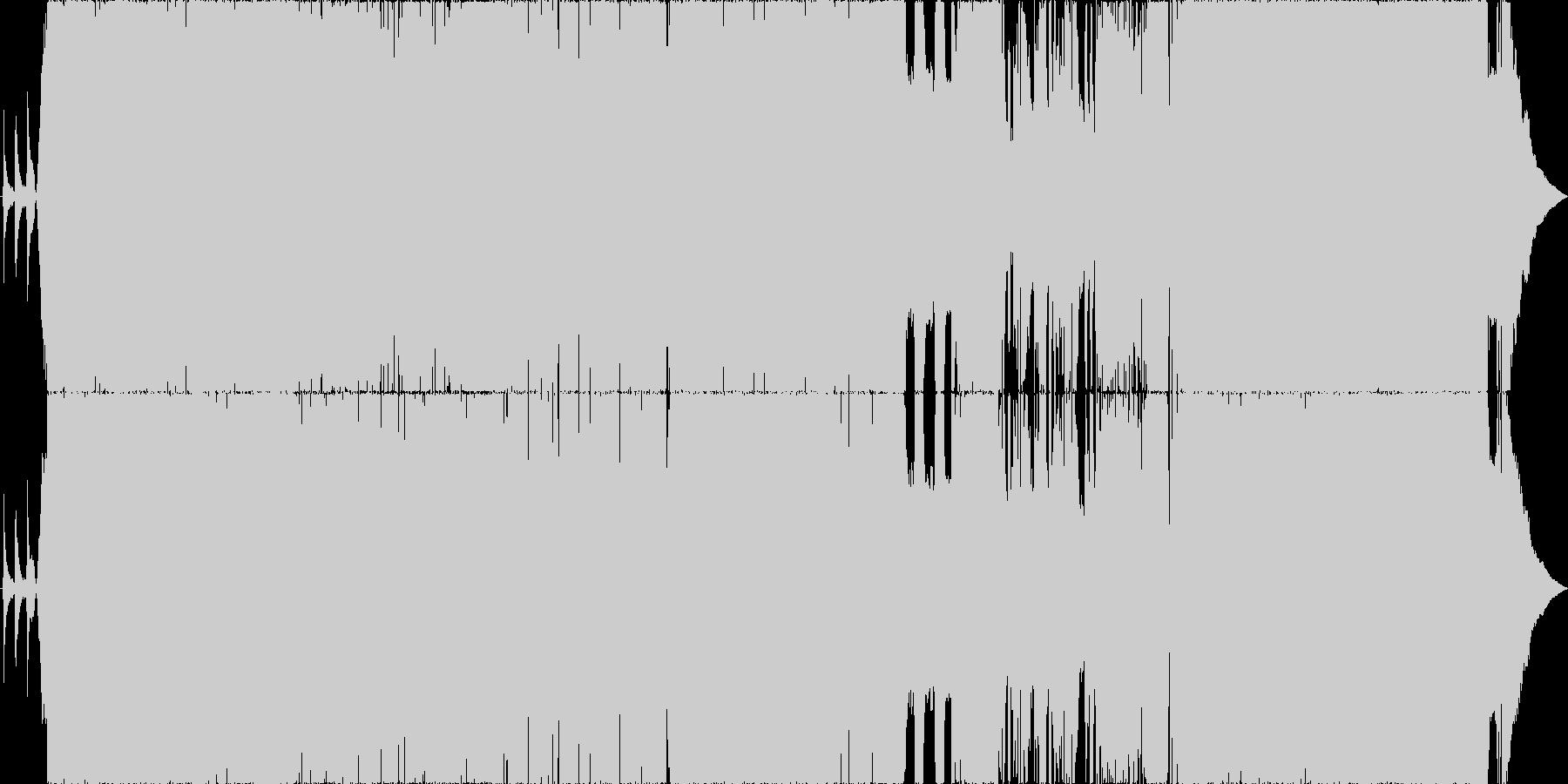 始まりを応援するキラキラのポップチューンの未再生の波形