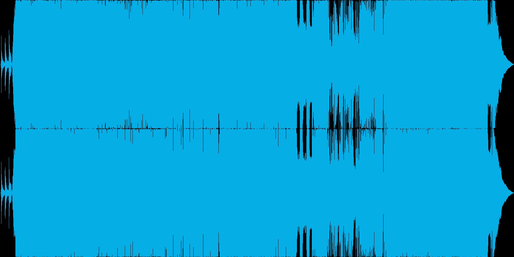 始まりを応援するキラキラのポップチューンの再生済みの波形
