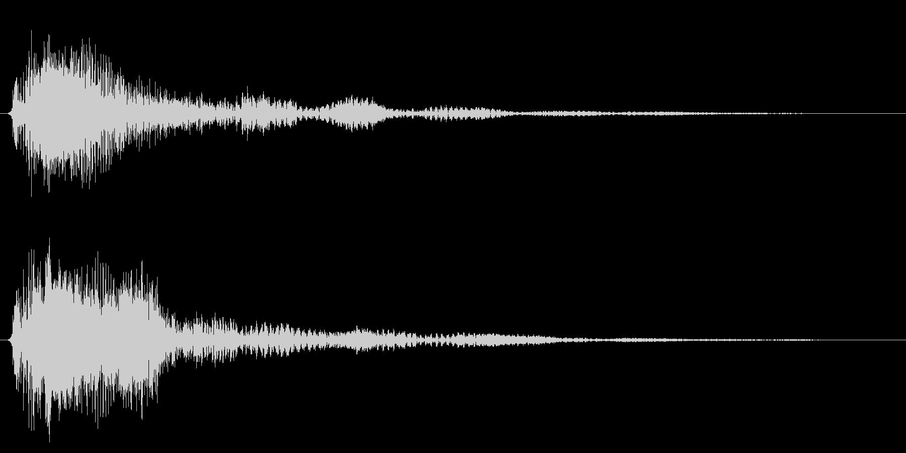 ブーン/ワープ/SF風の未再生の波形