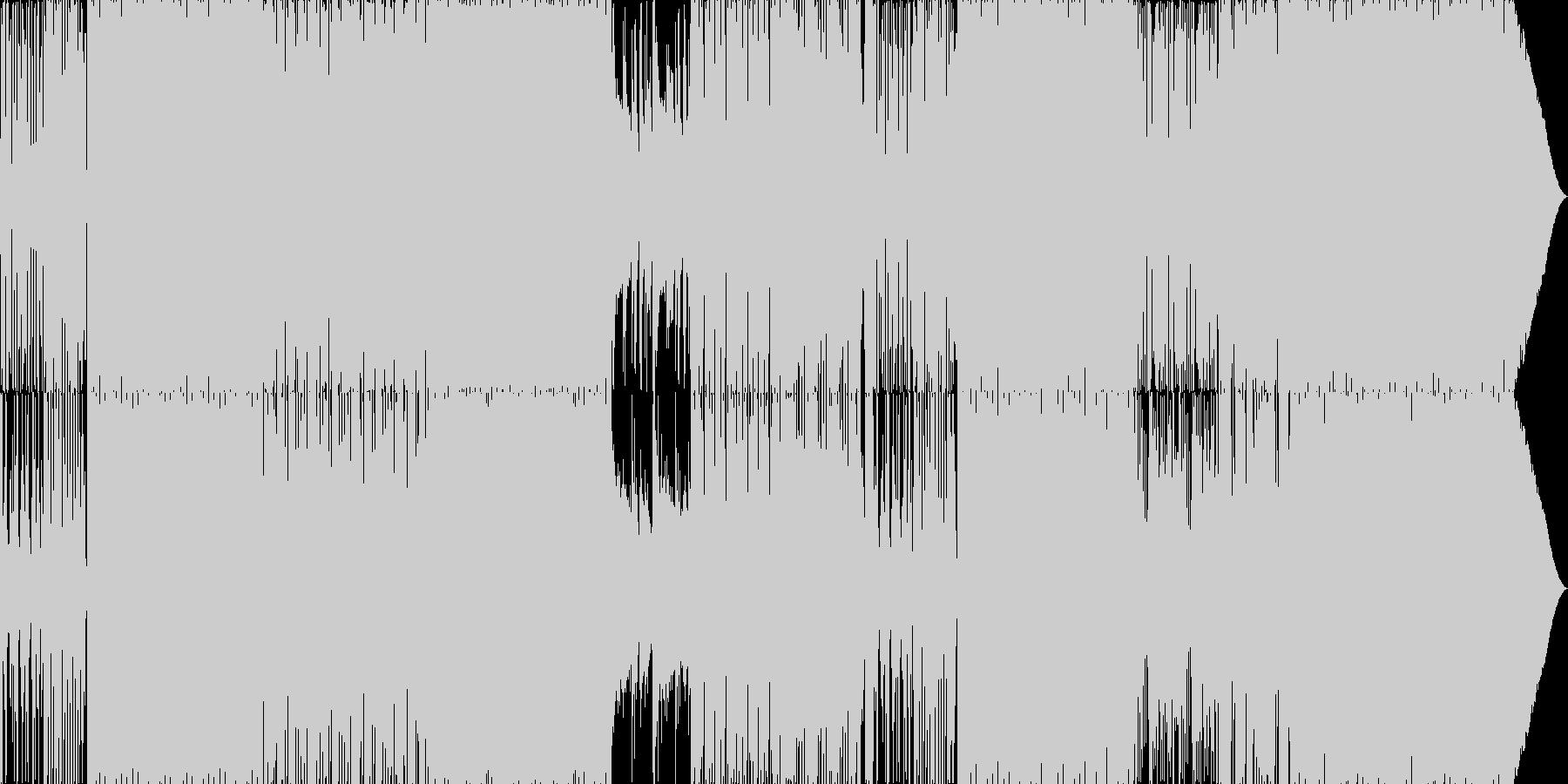 70'~80'年代のディスコ風04の未再生の波形