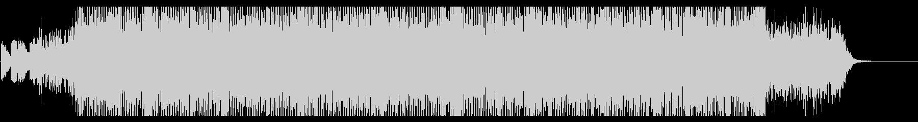 軽快で広がりを感じさせる綺麗なEDMの未再生の波形