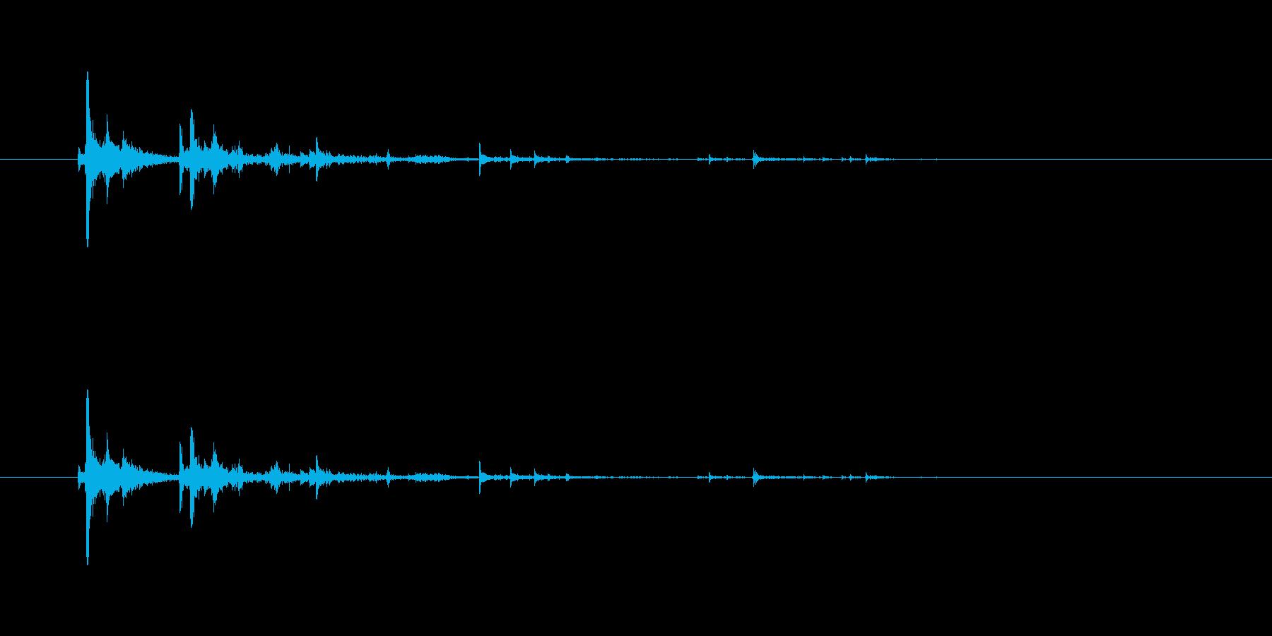 【ペン立て01-5(ひっくり返す)】の再生済みの波形