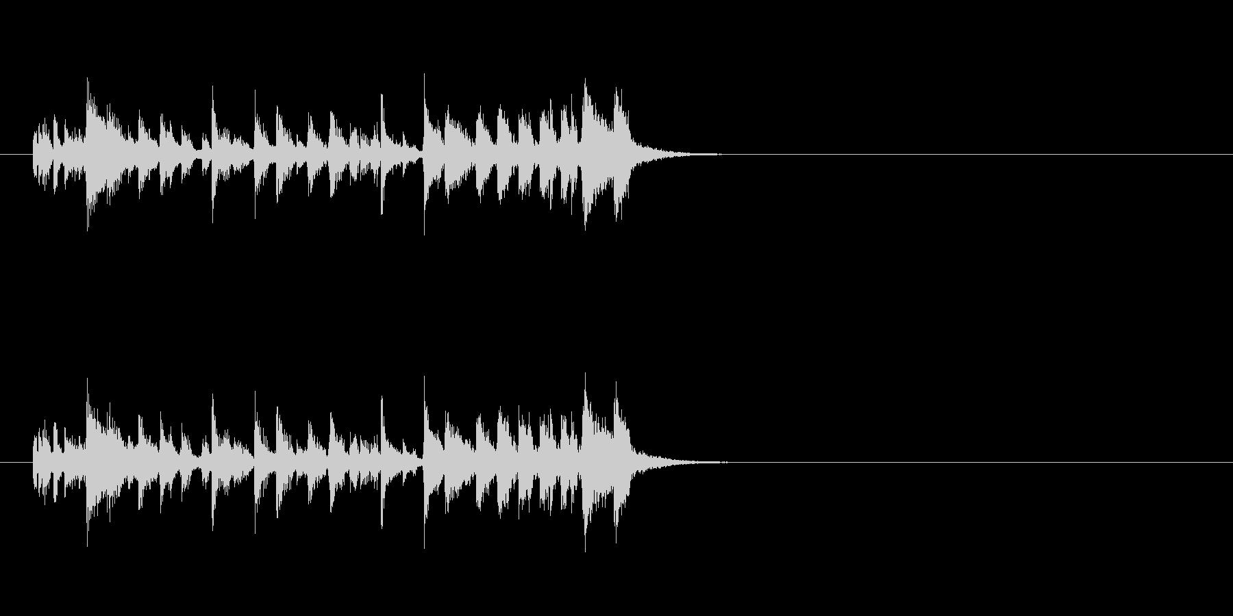 ジングル(ラテン系)の未再生の波形