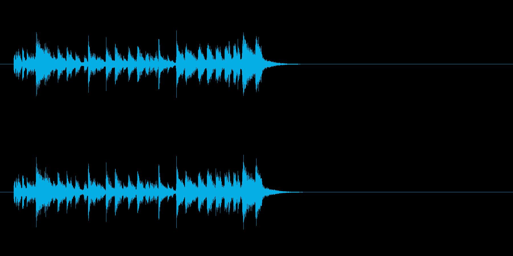 ジングル(ラテン系)の再生済みの波形