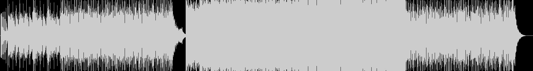 途中から盛り上がるEDM=HandsUpの未再生の波形