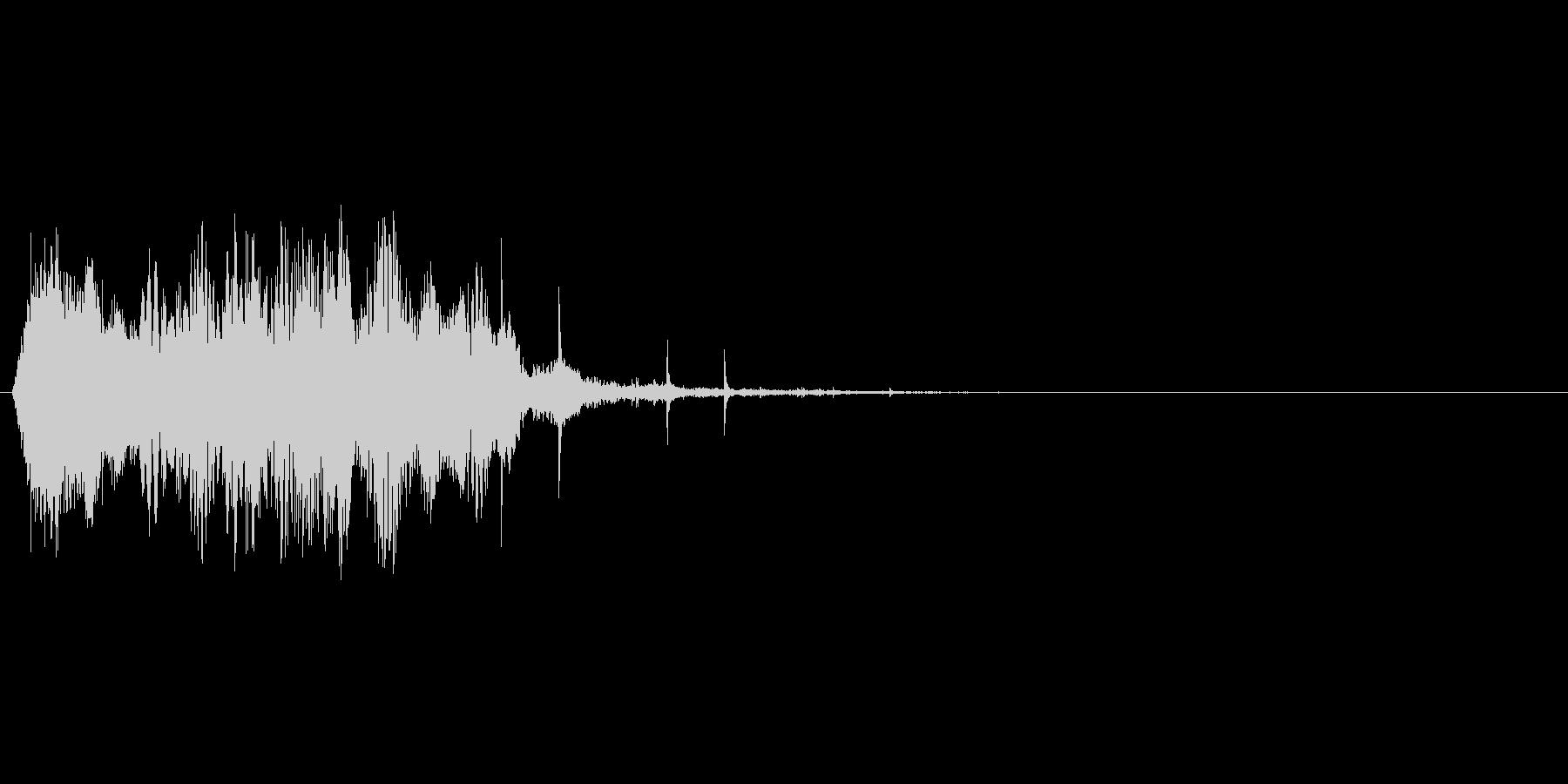 水系の魔法の詠唱→発動をイメージしたSEの未再生の波形