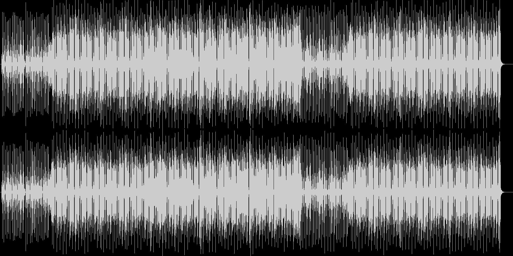 宇宙的なシンセサイザーポップサウンドの未再生の波形