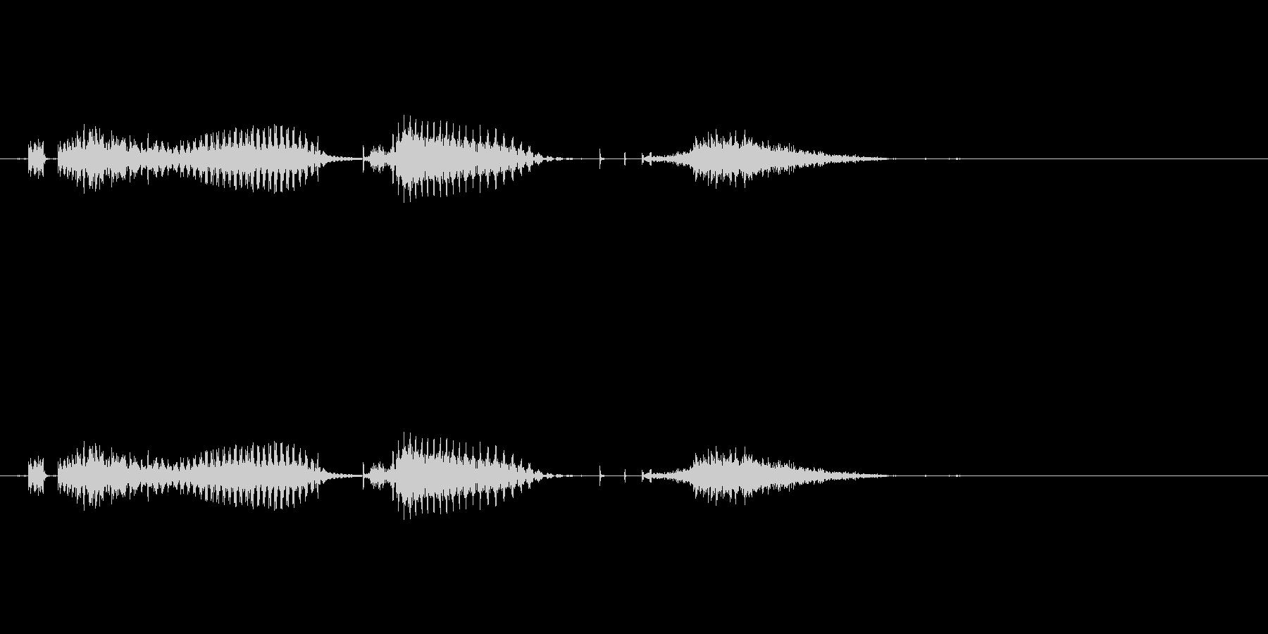 七対子(麻雀)の未再生の波形