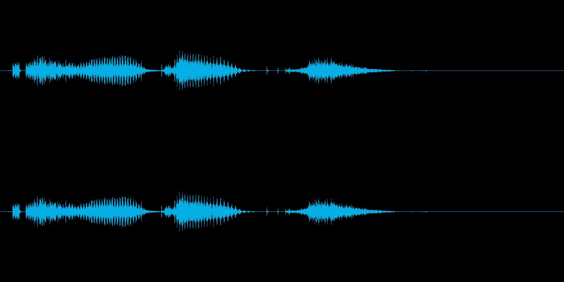 七対子(麻雀)の再生済みの波形