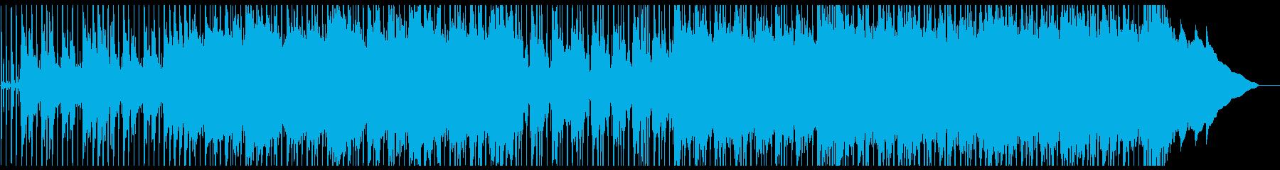 映画のような景色が見える切ない曲の再生済みの波形