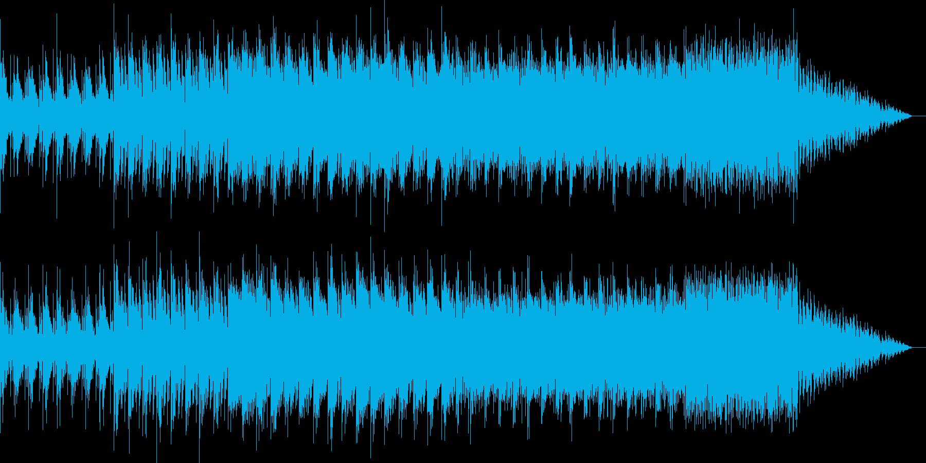 シンプルでディープなテックハウスの再生済みの波形