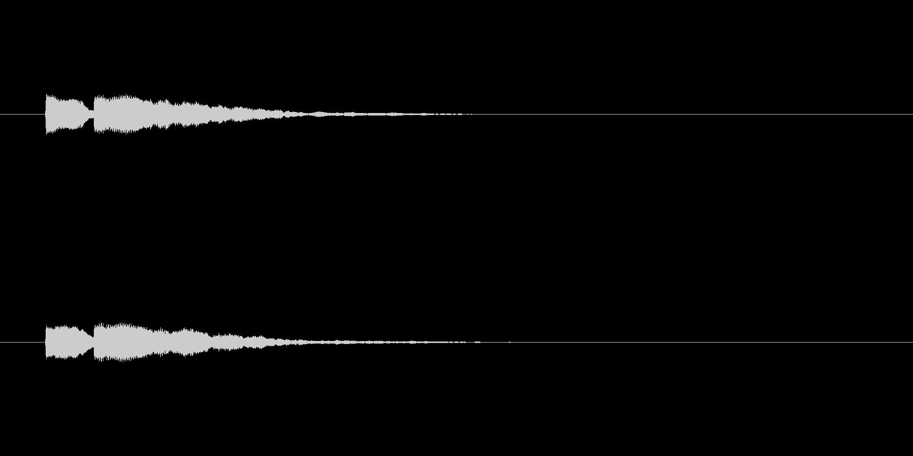 【ひらめき06-2】の未再生の波形