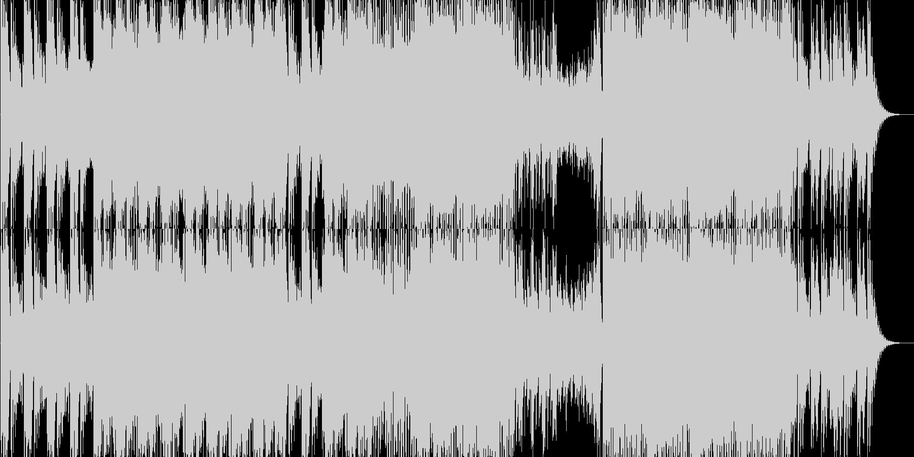 哀愁感が漂うHipHopの未再生の波形