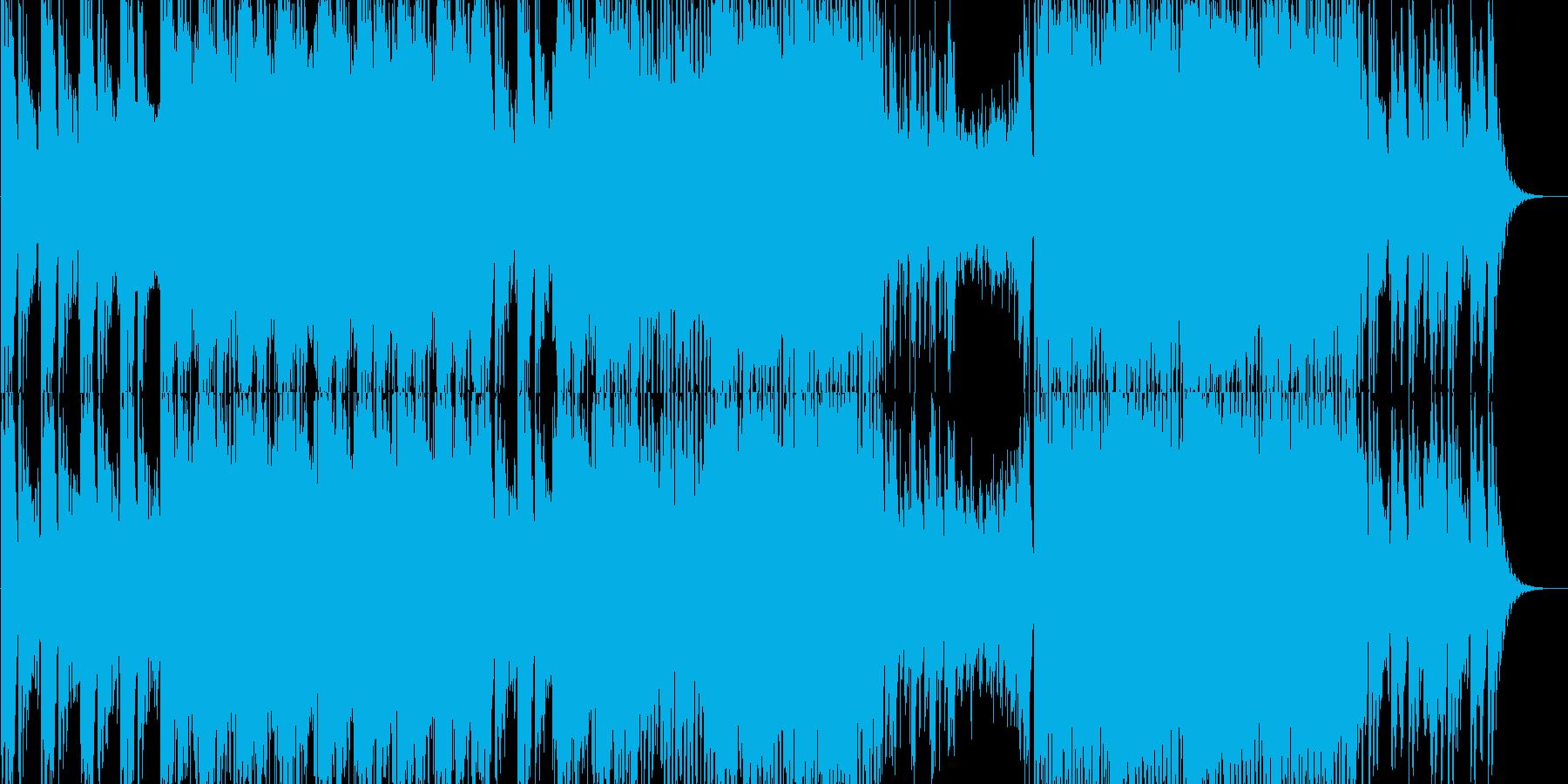 哀愁感が漂うHipHopの再生済みの波形