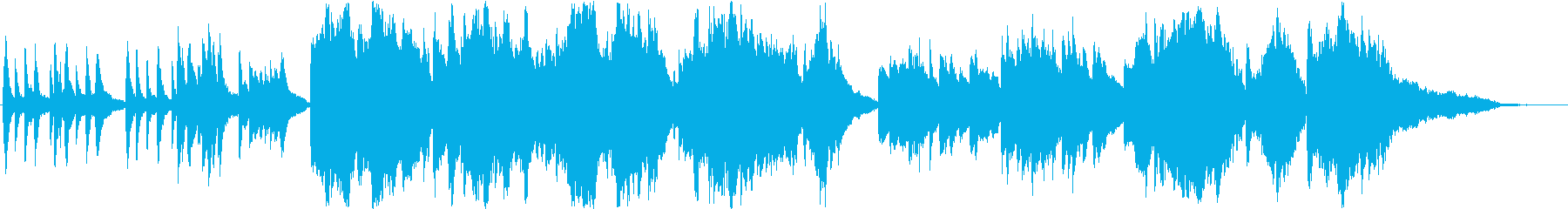 ピアノとチェロの悲しく切ないバラードの再生済みの波形