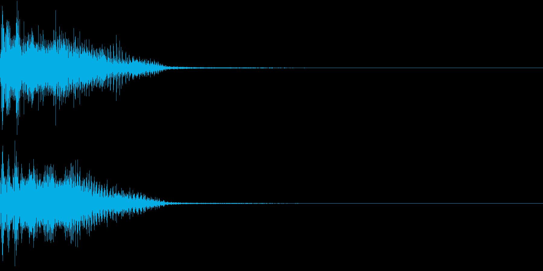 InvaderBuzz 発砲音 12の再生済みの波形