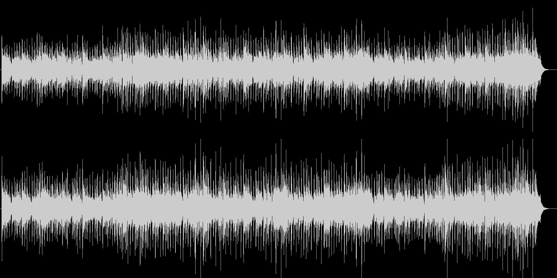 ドラマチックなポップスBGMの未再生の波形