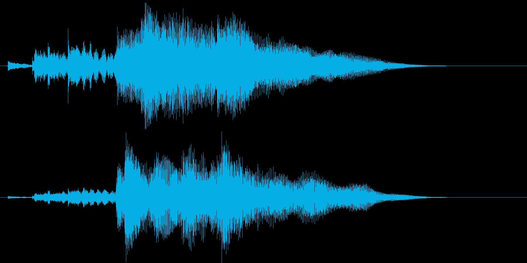 オッケー!の再生済みの波形
