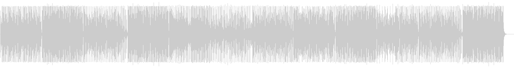 軽快でメローなシンセポップサウンドの未再生の波形