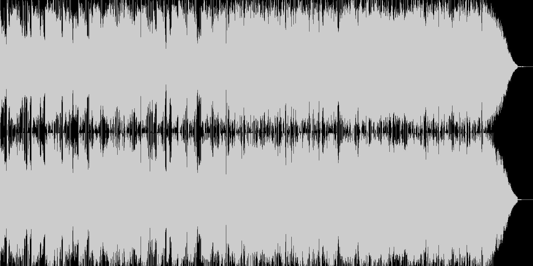 ギターインストの小品の未再生の波形