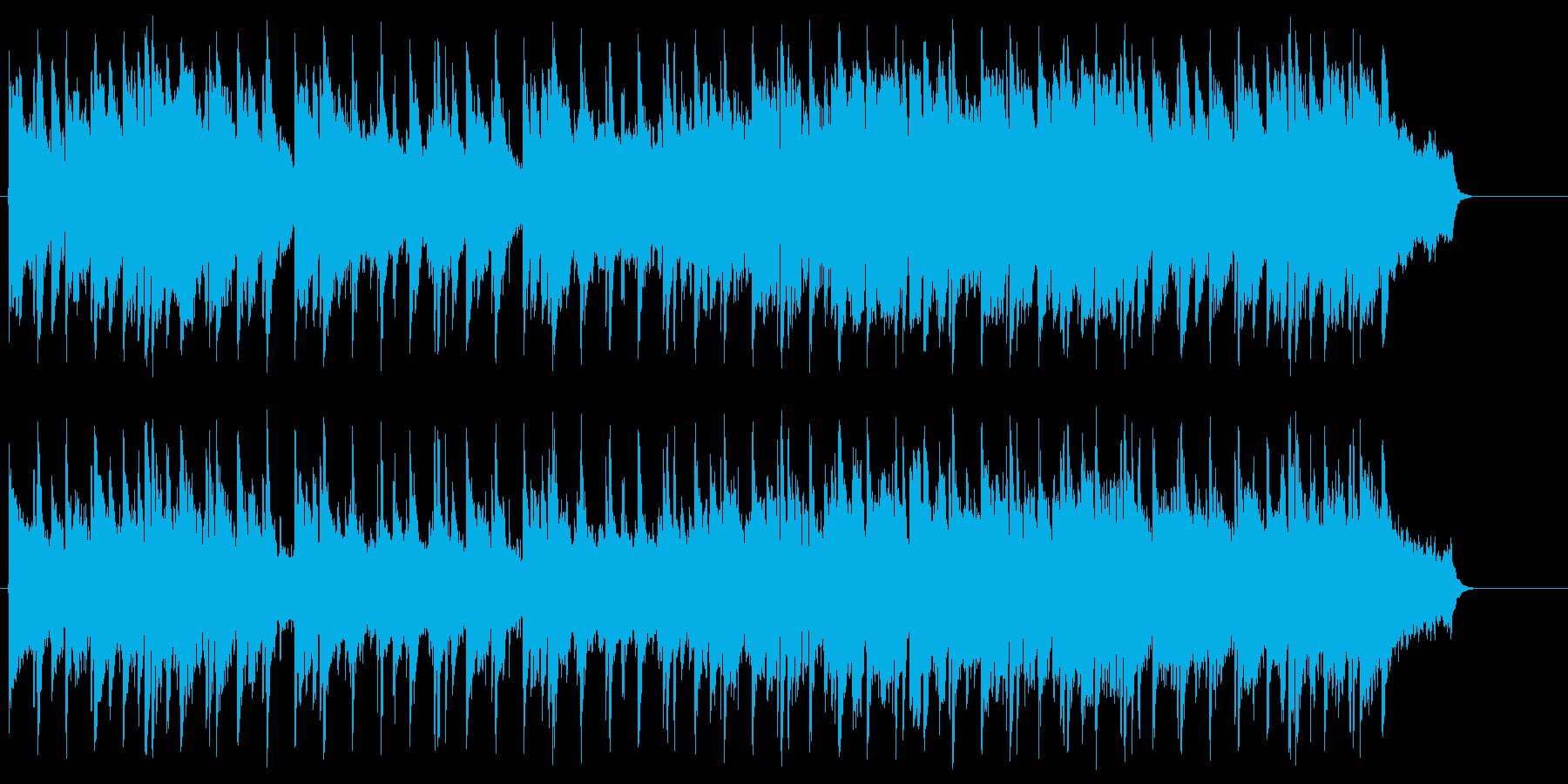 温もりがあり優しい気持ちになるバラードの再生済みの波形
