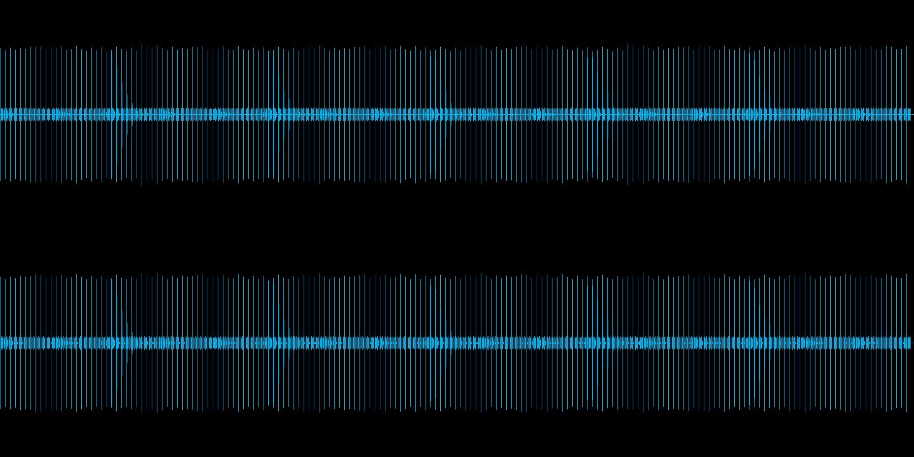 【懐中時計】カッチ・チ・チ・チ…の再生済みの波形